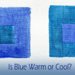 Is the Temperature of Blue Warm or Cool?