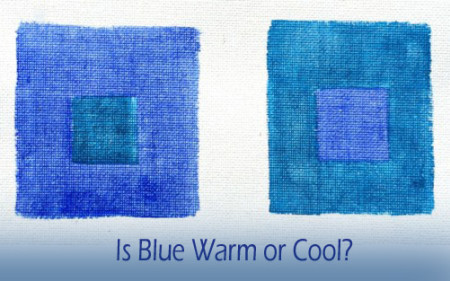 blue warm or cool