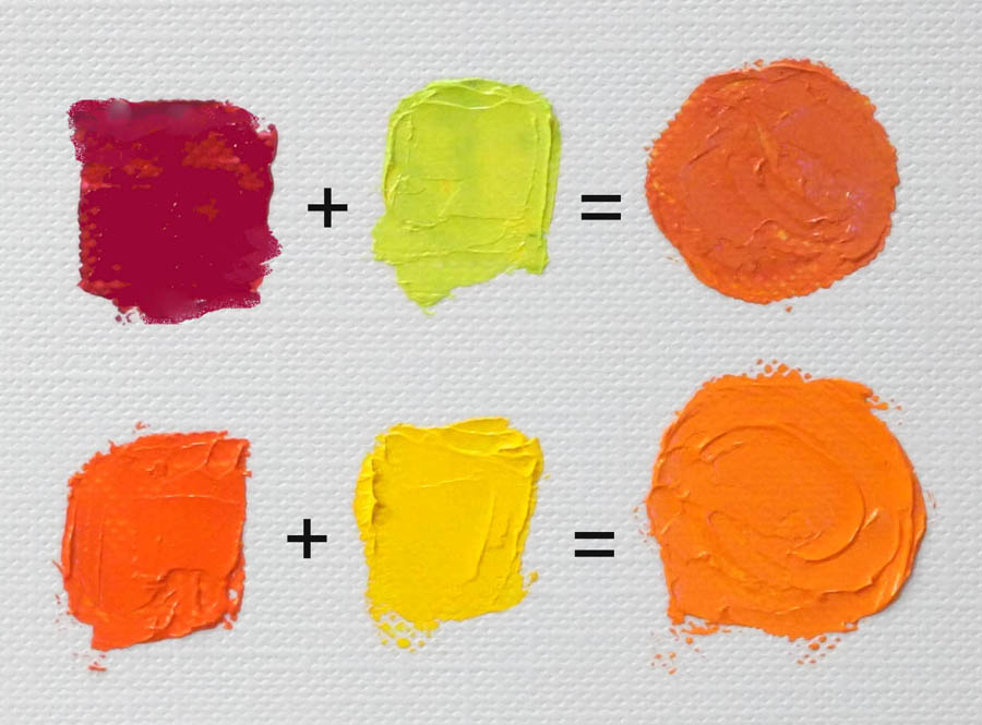 28 What Paint Colors Make Orange By Mixing