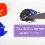 Red and Blue Don't Make Purple!
