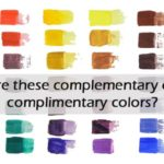 Is it Complimentary or Complementary Colors? Why?