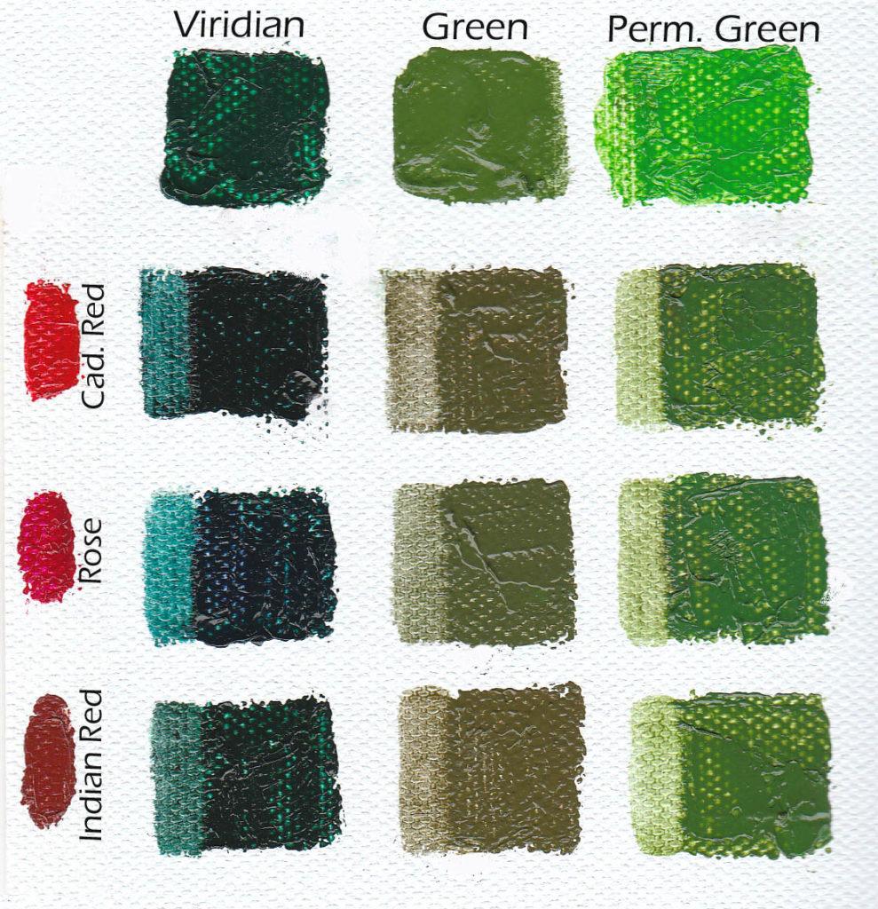 tube greens