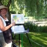 Painting in Monet's Garden! – Day 3