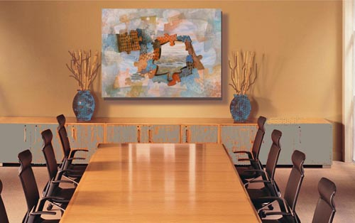 It's Easy to Show Your Paintings on a Wall! A Digital ...
