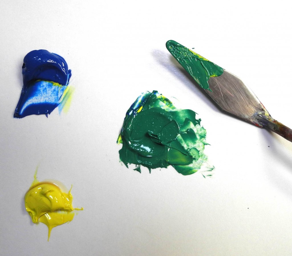 mix a bright green