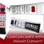 Could You Toss Your Alizarin Crimson? | A Color Theory Tip