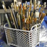 Dishwasher Parts for a Painting Studio? | Re-purposing Household Items