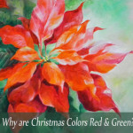Why Red & Green and Not Purple & Gold for Christmas Colors?