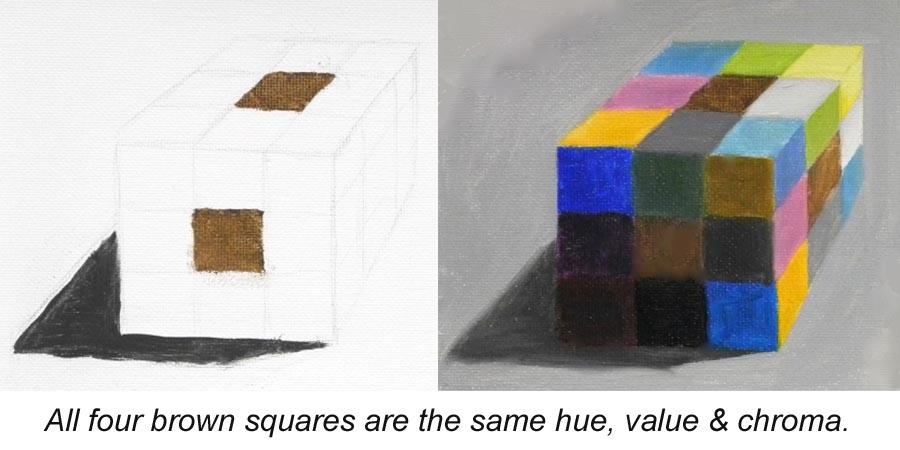 simultaneous contrast