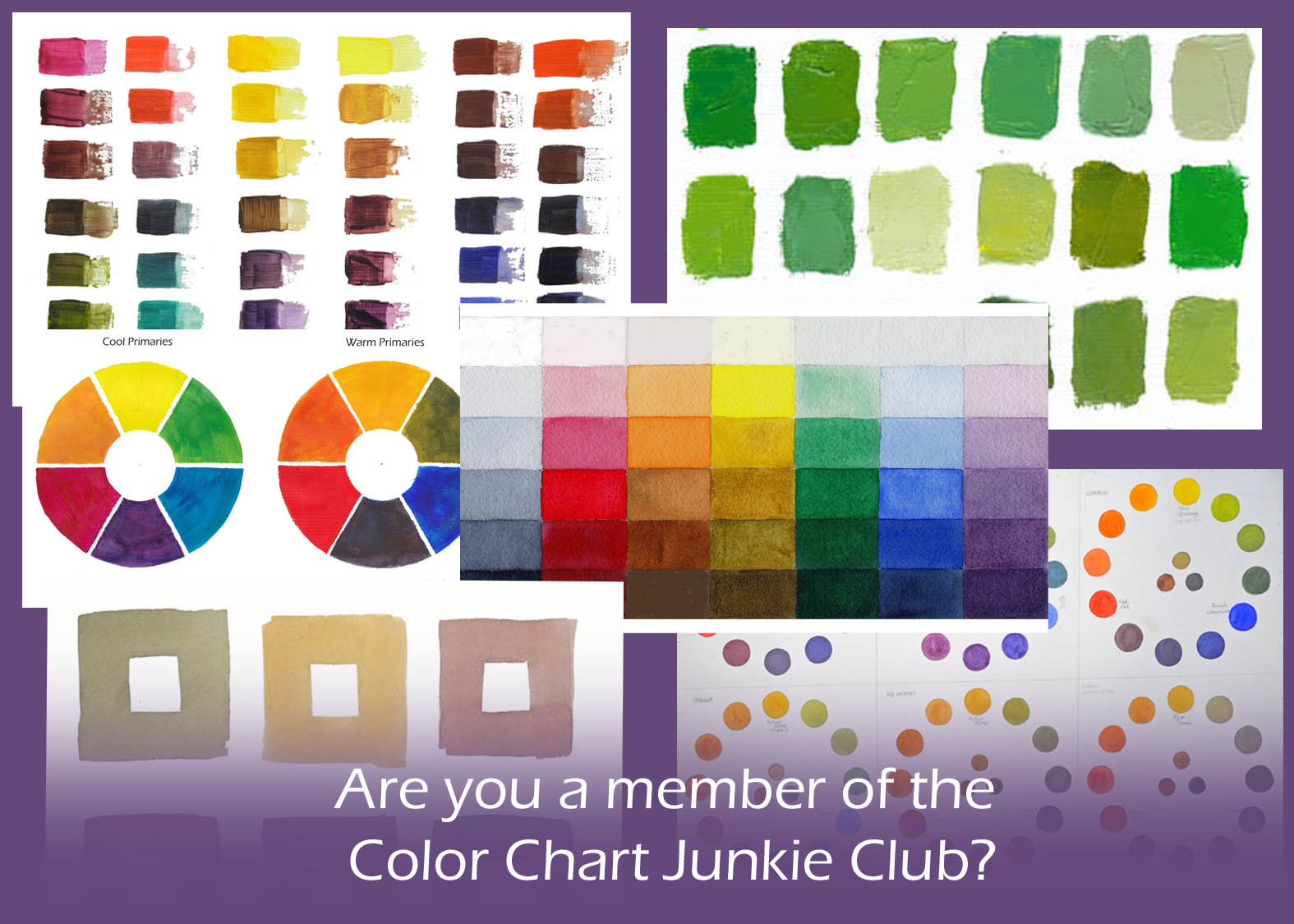 Are You A Color Chart Junkie Celebrating Color