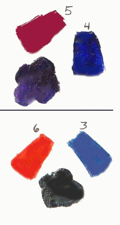 mix bright and dull secondary colors
