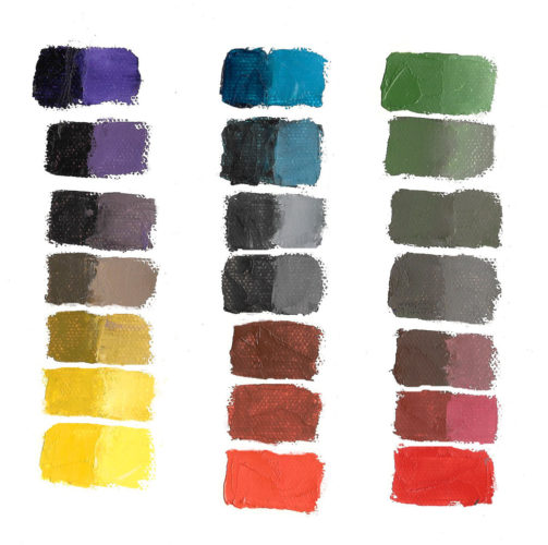 pairs of complementary colors