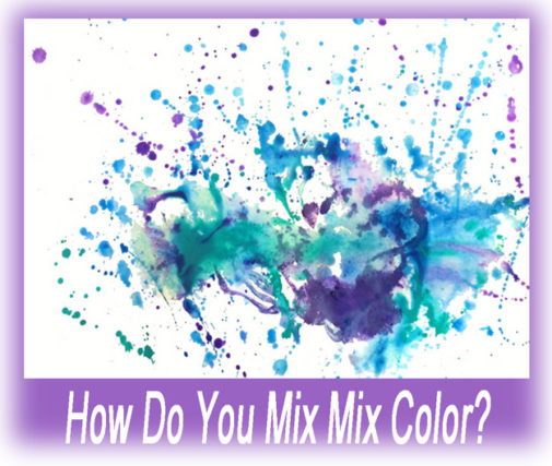 three ways to mix color