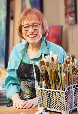 Artist and Author, Carol McIntyre