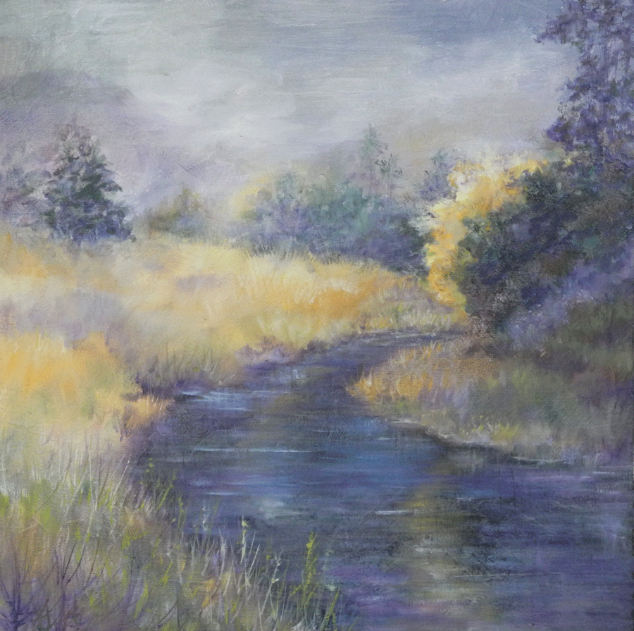six primaries, color mixing, landscape painting, painting lesson, color theory