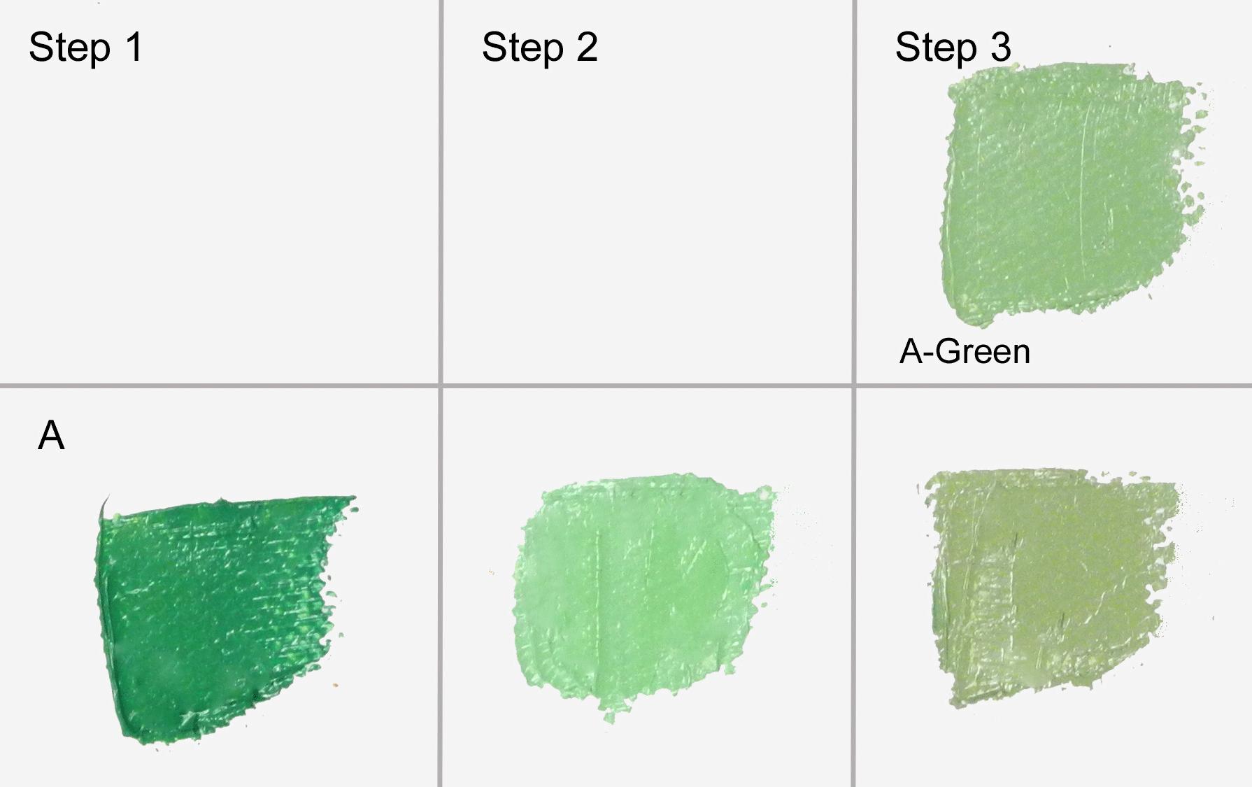mixing sage green