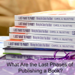 What Are the 5 Phases of Publishing a Book? | Part Two