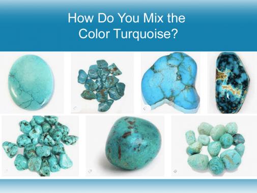 mix turquoise